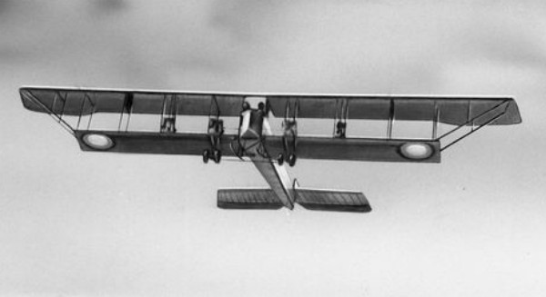 Image - The Ilia Muromets plane designed by members of the Kyiv Society of Aerial Navigation.