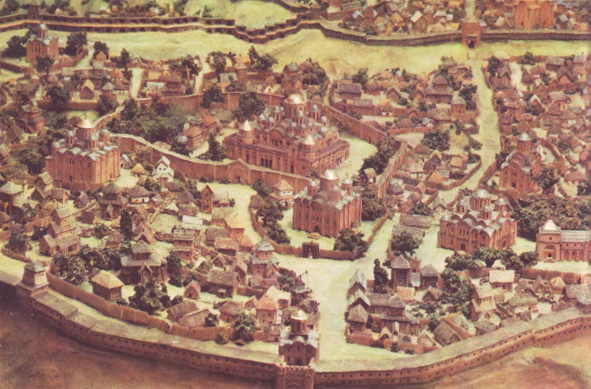 Image - Kyiv: reconstruction of the medieval city.