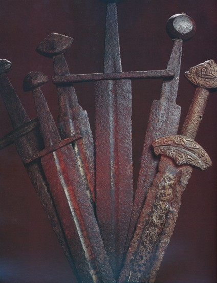 Image -- Swords from the Kyivan Rus' times.