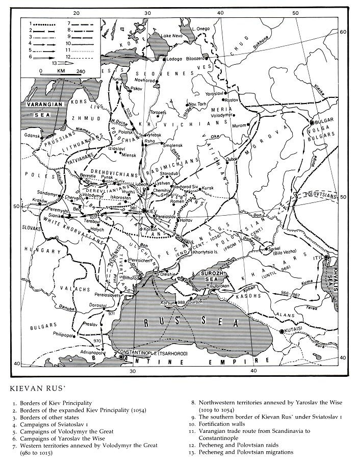 Image from entry Kyivan Rus' in the Internet Encyclopedia of Ukraine