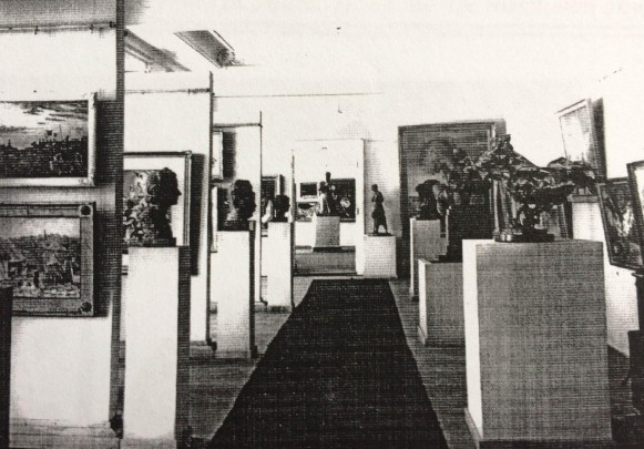 Image - An 1942 exhibition organized by Labor Association of Ukrainian Pictorial Artists.