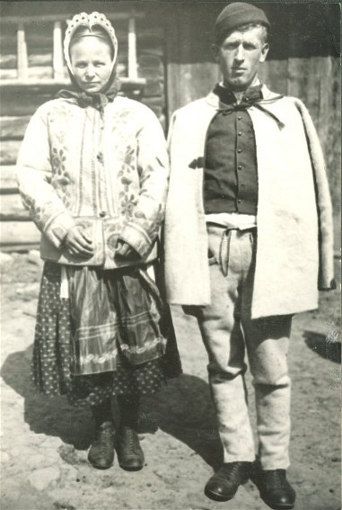 Image - A Lemko couple.