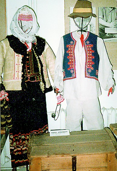 Image -- Lemko folk dress.