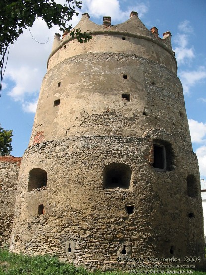 Image - Letychiv castle tower.