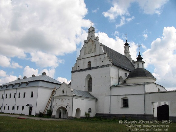 Image - Letychiv: Saint Mary's Church of the Dominican monastery complex (1606-38).