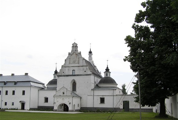 Image -- Letychiv: Saint Mary's Church of the Dominican monastery complex (1606-38).