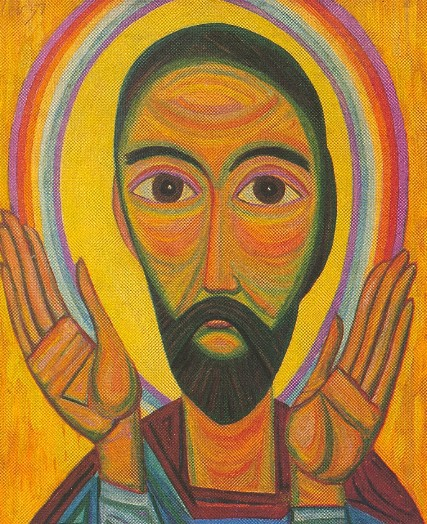 Image - Myron Levytsky: Head of an Apostle (1957).