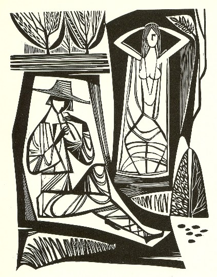 Image - Myron Levytsky: [Lesia Ukrainka's] Song of the Forest (1977).