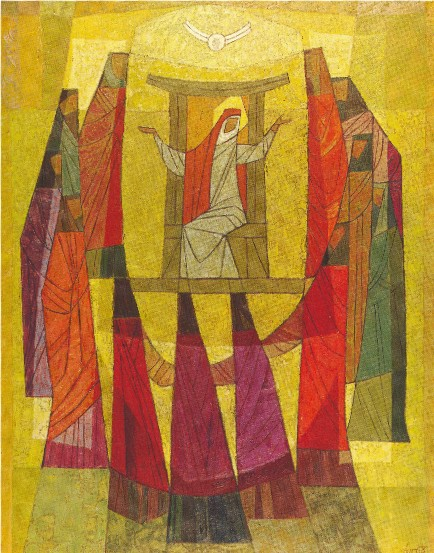 Image -- Myron Levytsky: The Day of the Pentecost (1968).