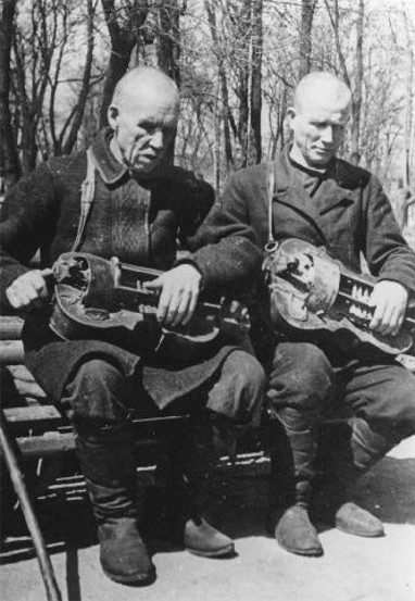 Image - Two unknown lirnyks (Kyiv, 1939).