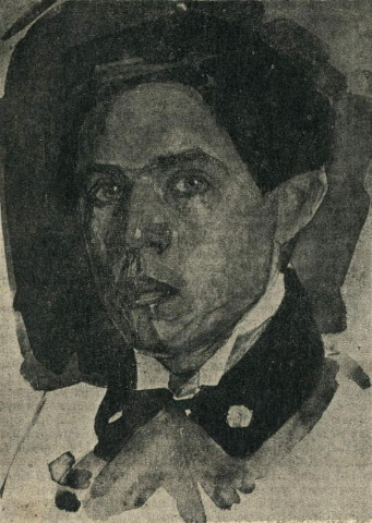 Image - Robert Lisovsky (self-portrait).
