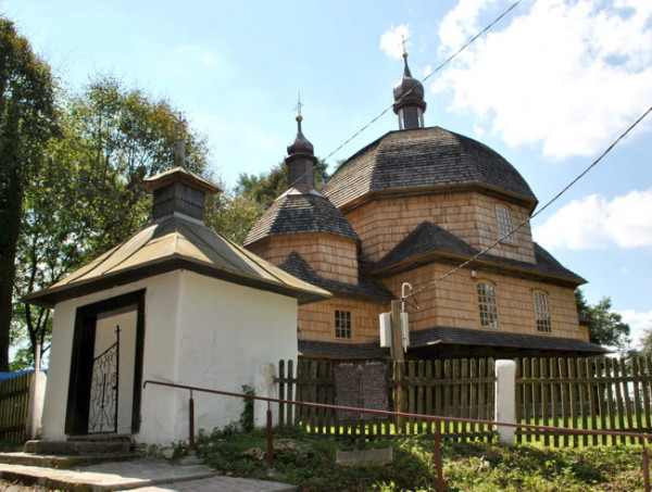 Image - A Ukrainian church in Liubycha Korolivska (Lubycza Krolewska) in the Roztochia region.
