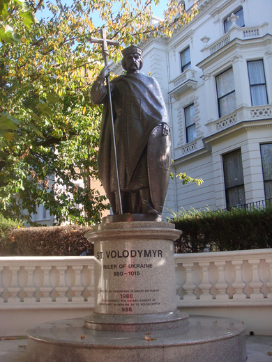 Image - London, UK: Monument of Saint Volodymyr the Great.