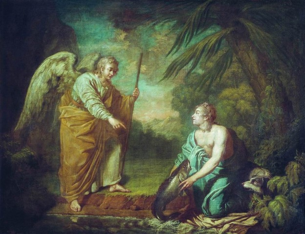 Image - Antin Losenko: Tobias and the Angel.