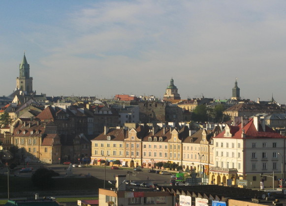 Image -- Lublin: city center.