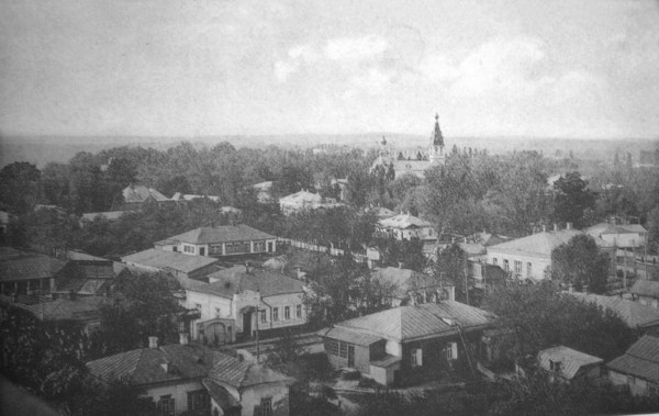 Image - Lubny (panorama in early 20th century).