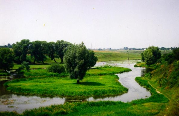 Image - The Luha River near Volodymyr-Volynskyi.