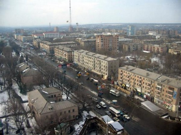 Image - Luhansk: city center.