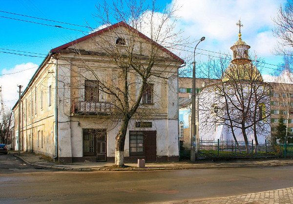 Image - Lutsk: the Church and Monastery of the Elevation of the Cross.