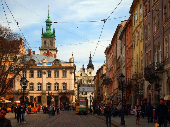 Image -- Lviv (city center).