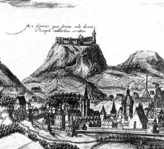 Image - A 17th century engraving of Lviv.