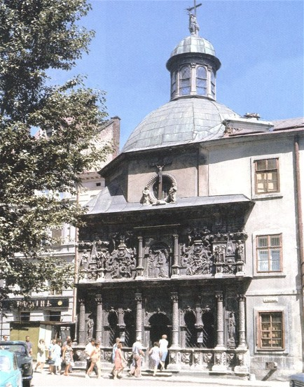 Image - The Boim family chapel (1609-11) in Lviv.