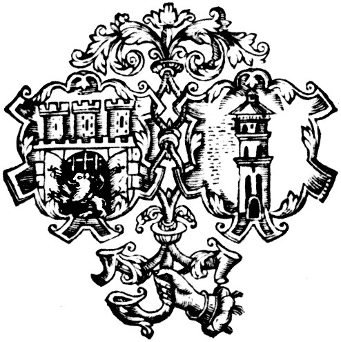 Image - Printers mark (17th century) of the Lviv Dormition Brotherhood Press.