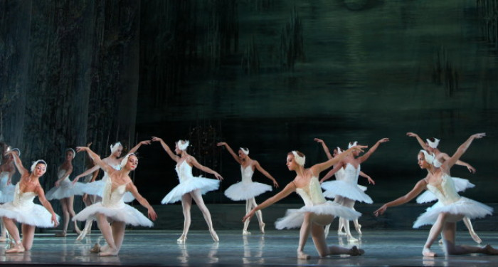 Image - The production of P. Tchaikovsky Swan Lake at the Lviv National Academic Theater of Opera and Ballet.