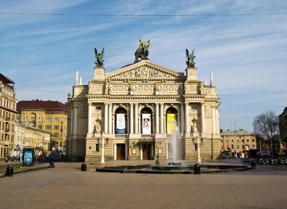 Image - The Lviv National Academic Theater of Opera and Ballet.