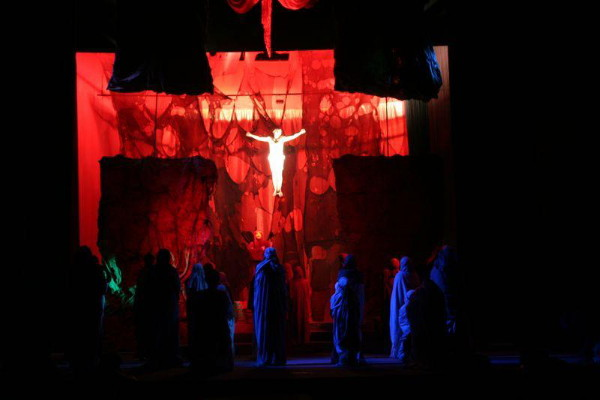 Image - Lviv National Academic Ukrainian Drama Theater: the production of Jesus, the Son of God.