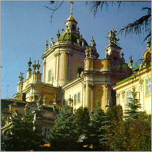 Image - Saint George's Cathedral in Lviv.