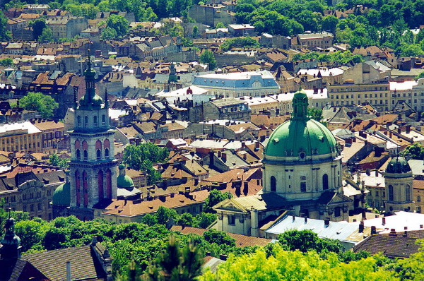 Image - Lviv: city center.