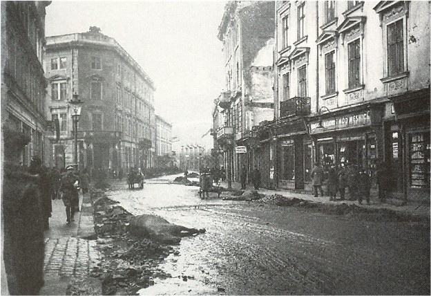 Image - Lviv during the Ukrainian-Polish War in November 1918.