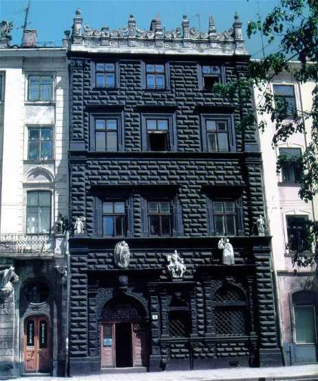 Image - The Black Building (1588-1589) in Lviv.