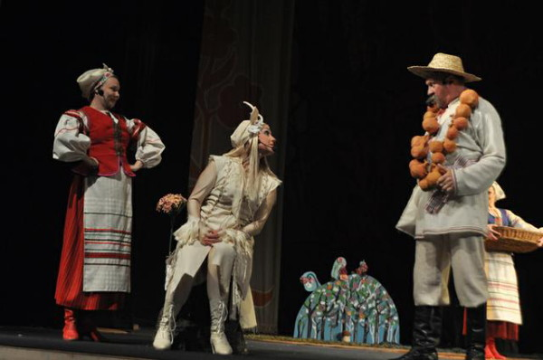 Image - Mykola Lysenko Koza-Dereza children's opera at the Volhynia Academic Music and Drama Theater.