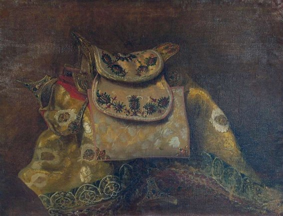 Image - Oleksander Lytovchenko: A Saddle (date unknown).