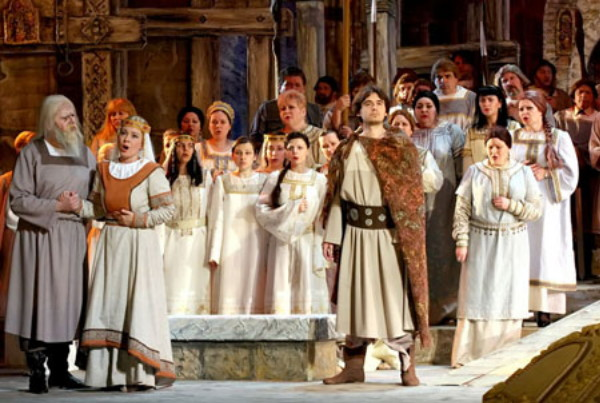Image -- Heorhii Maiboroda: Yaroslav the Wise opera at the National Opera of Ukraine.