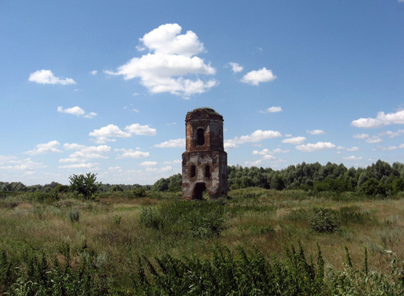 Image -- Ruins of the Maksaky Transfiguration Monastery.