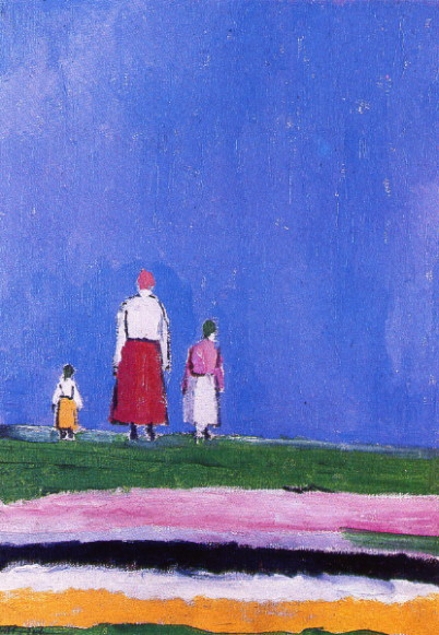 Image - Kazimir Malevich: Three Peasants (1929-30).