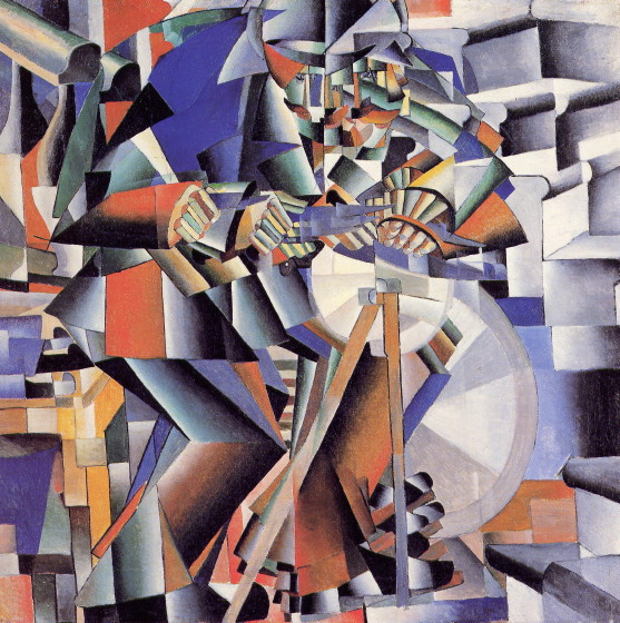Image - Kazimir Malevich: The Knife Grinder (1912-13).