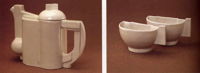 Image - A tea set designed by Kazimir Malevich (1923).