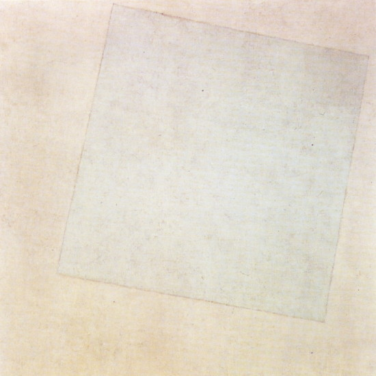 Image - Kazimir Malevich: White on White (1918).