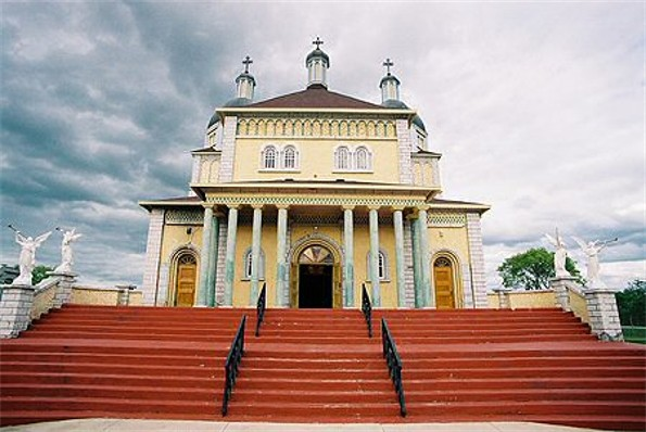 Image - The Ukrainian Catholic Church of the Immaculate Conception in Cook's Creek, Manitoba.