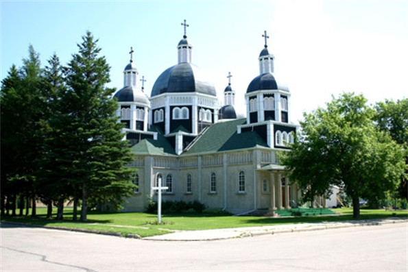Image -- The Ukrainian Catholic Church of the Resurrection in Dauphin, Manitoba.