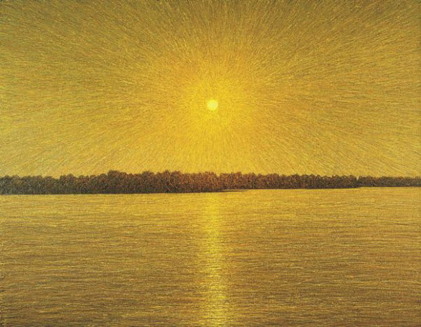 Image - Ivan Marchuk: Sun Has Risen over the Dnipro (2004).