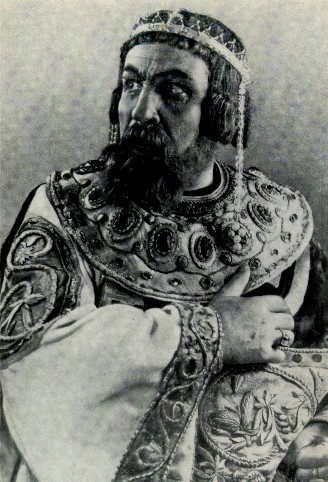 Image - Ivan Marianenko as Yaroslav the Wise in Ivan Kocherha's play (Kharkiv Ukrainian Drama Theater, late 1940s).