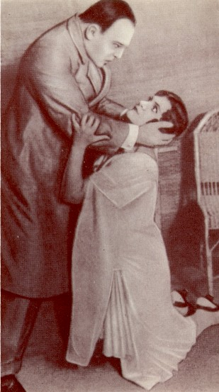 Image - Ivan Marianenko and Nataliia Uzhvii in Berezil's production of Somerset Maugham and John Colton's Sedi (1926).