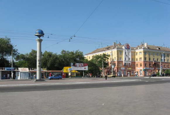 Image - Mariupol: city center.