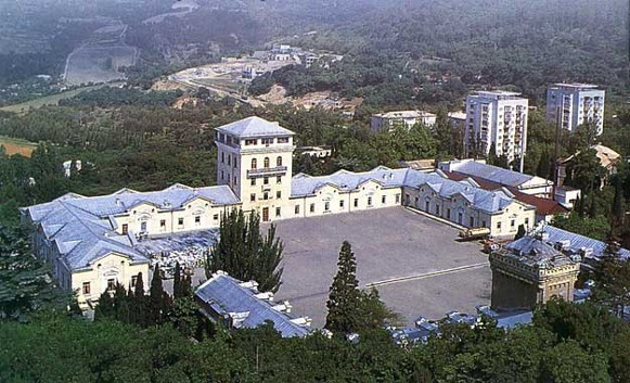 Image - The Wine-making Complex in Masandra in the Crimea.