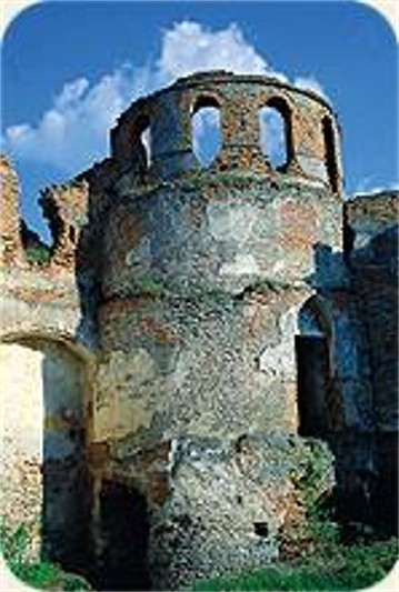 Image - Tower of the Medzhybizh castle.